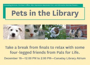 pets in the library